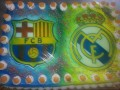Tarta F.C. Barcelona vs R. Madrid
