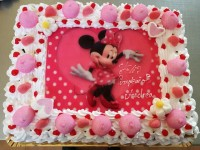Tarta de Minnie